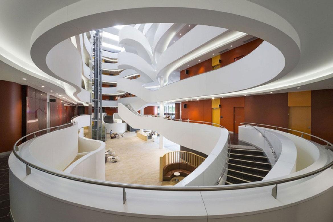 Центр Чарльза Перкінса, Університет Сіднея </br> Компанія fjmt </br> Сідней, Мельбурн, Оксфорд